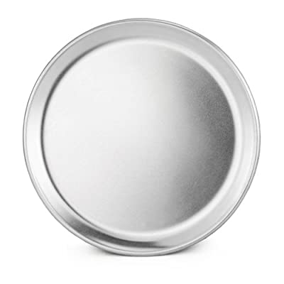 New Star Foodservice 51018 Aluminum Coupe Style Pizza Tray Pizza Pan