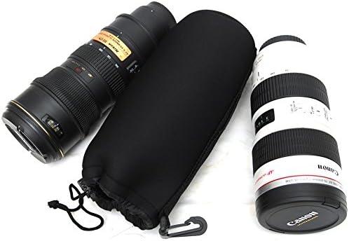 kinokoo material de neopreno funda para objetivo lente bolsa con 4/tama/ño bolsa protectora resistente al agua y a prueba de golpes peque/ño, mediano, grande, Extra grande