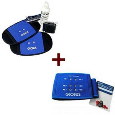 Fast Body Globus Vendaje/Cojín Para Electroestimulación, para abdominales, glúteos, espalda