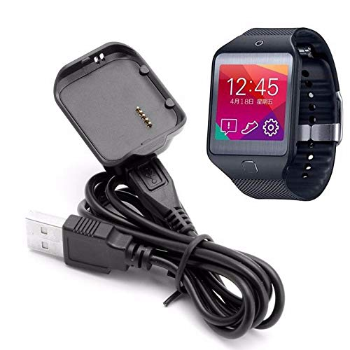 Semoic Charging Cradle Dock Replacement Charger with Micro-USB Charging Cord for Samsung Galaxy Gear 2 Neo R381 Smart Watch by Semoic (Image #6)