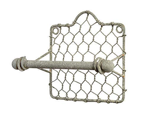 Colonial Tin Works Chicken Wire Toilet Paper ()