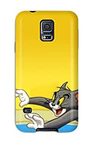 New Arrival XTVswbM9456WhZeH Premium Galaxy S5 Case(tom And Jerry For Android )