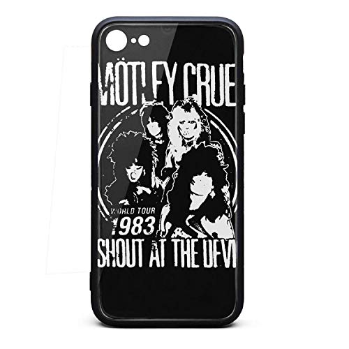 Cool Music Fan Phone case for iPhone 6/6s Fashion Shock Absorption TPC Tempered Glass Unique 80s uni Cover Case