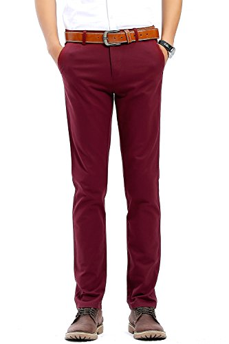 red mens pants - 8