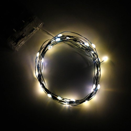 Led Mardi Gras String Lights : BINZET 2m 20leds Flexible LED Soft Wire String Lights Micro LED Starry Starry Lights AA Battery ...