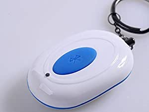 DITOP® Newest ! Tiny VTag Key Finder Seeker Locator Bluetooth 4.0 Wireless Anti-lost/Burglar Safety Alarm Device (White)
