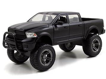 Dodge Pickup Trucks >> Buy 2014 Dodge Ram 1500 Matt Black Pickup Truck Off Road Just Trucks