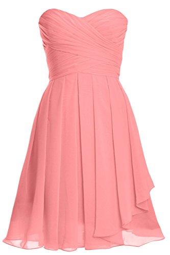 Donna Senza Pink Blush Vestito maniche MACloth ad linea a qTAwYfx