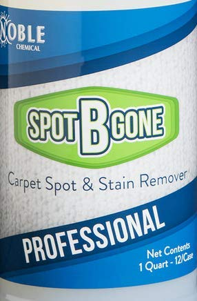 Noble Chemical 32 oz. Spot-B-Gone Professional Carpet Spot and Stain Remover - Pack of 12