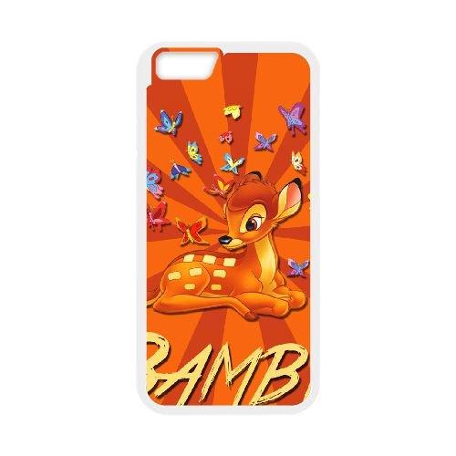 Bambi 023 coque iPhone 6 4.7 Inch cellulaire cas coque de téléphone cas blanche couverture de téléphone portable EOKXLLNCD26317