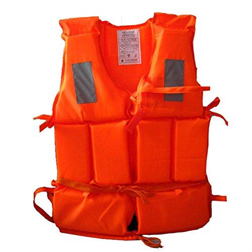Xinhenchen Schwimmweste für Erwachsene, für Wassersport, mit Pfeife, Unisex