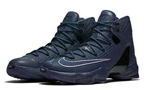 NIKE Mens Lebron XIII Elite Lmtd Basketball Shoes (9 D(M) US, Squadron Blue/Squadron Blue-Metallic (Lebron 9 Basketball Shoes)