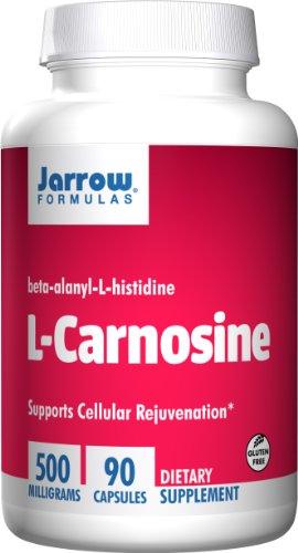 Cheap Jarrow Formulas L-Carnosine 500mg, Supports Brain, Memory, Cardiovascular Health, 90 Caps
