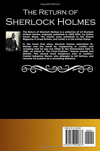 Amazon.com: The Return of Sherlock Holmes (Best Novel ...