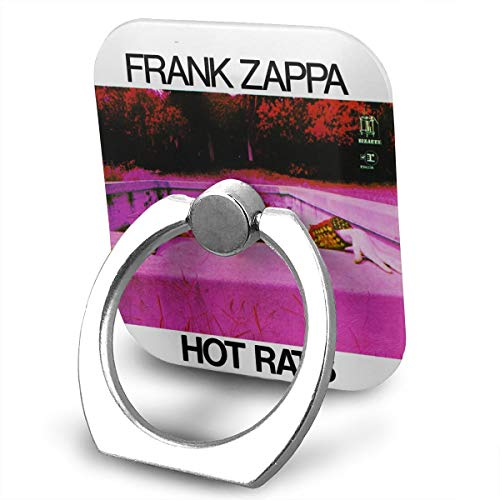 EdithL Frank Zappa Hot Rats Cell Phone Finger Ring Stand, Car Mount 360 Degree Rotation Universal Phone Ring Holder Kickstand for -