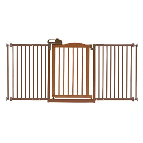 Richell Pet One-Touch Gate II Wide, -
