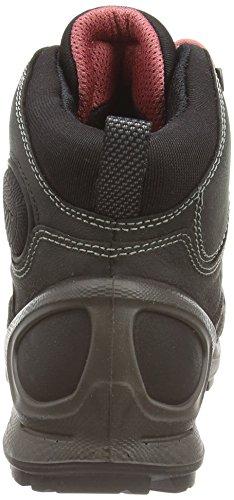 Ecco ECCO BIOM TERRAIN LADIES - Zapatillas De Deporte Para Exterior de piel mujer Negro (BLACK/BLACK/PETAL TRIM59269)