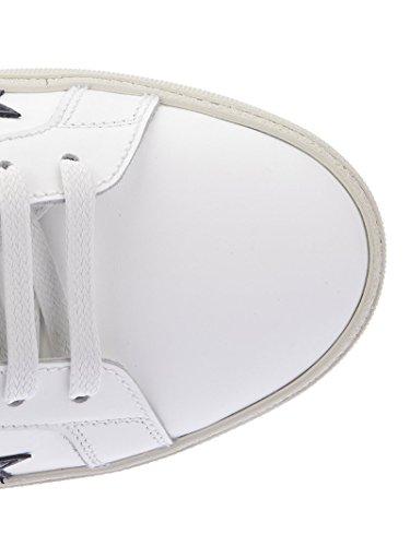 Saint Laurent Mænd 4215720mp209084 Hvide Læder Sneakers qiLOA3As