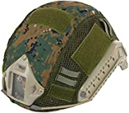 ATAIRSOFT Tactical Military Combat Helmet Cover Airsoft Paintball Wargame Gear for PJ/BJ/MH Type Fast Helmet