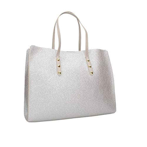 Bag Femme Argent Shopping Twinset 191ta7240 xYPvpp