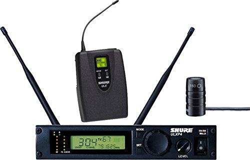 - Shure ULXP14/83 Lavalier Wireless System, J1