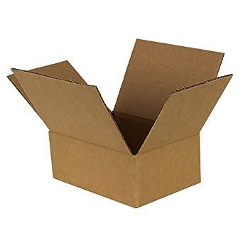 PRATT pra0022 Fol 100% reciclado caja de cartón con Full superposición de aletas, 6
