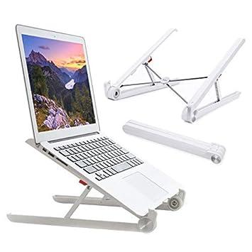 Elekin Laptop Stand, Plegable Ordenador Portátil Ajustable Soporte ...