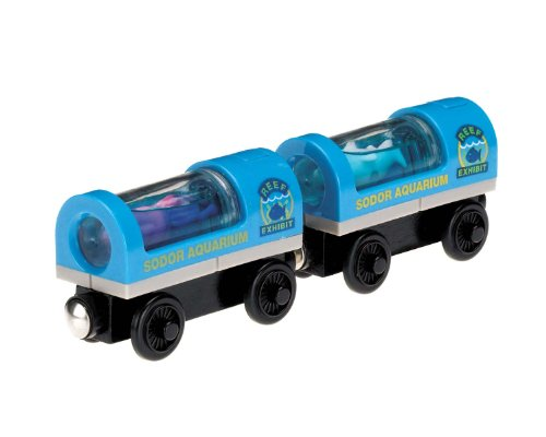 Thomas & Friends Fisher-Price Wooden Railway - Aquarium Cars