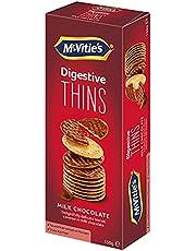 McVitie's Digestive Thins Milk Chocolate Biscuit, 150g