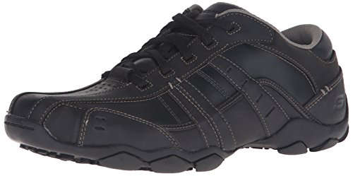 Casual Sneaker Black Skechers Vassell Men's Diameter 0IqwwBF7tf