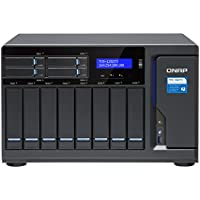 Qnap TVS-1282T3-i5-16G-US Ultra-High Speed 12 bay (8+4) Thunderbolt 3 NAS/iSCSI IP-SAN. Intel 7th Gen Kaby Lake Core i5 3.4GHz Quad Core, 16GB RAM, Thunderbolt3 port x 4 and 10Gbase-T x 2