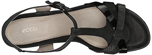 Ecco calzado para mujer Touch 45T correa vestido sandalia Negro
