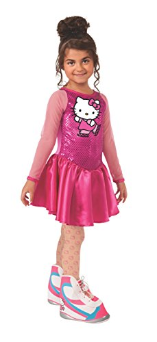 Figure In Girl Costume Stick (Rubies Hello Kitty Figure Skater Costume, Child)