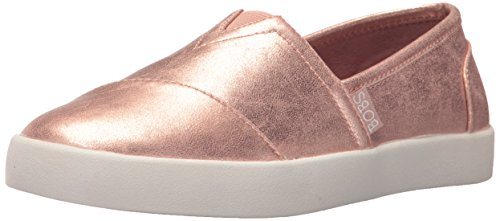 Skechers BOBS From Womens BOBS B-Loved-Liquid Sparkle Flat Rose Gold