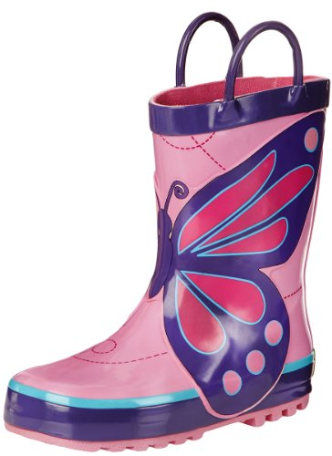 Western Chief Kids Wings Rain Boot,Pink,9 M US Toddler