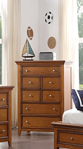 (Acme Furniture 30561 Lacey Chest, Cherry Oak)