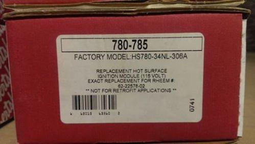 Robertshaw 780-785 Hot Surface Ignition Control, I.C.U.