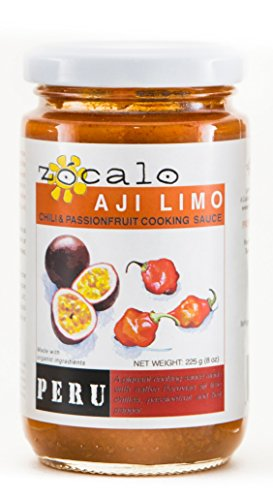 Zócalo Organic Aji Sauce - Limo Chili with Passionfruit (8 ounces) by Zócalo