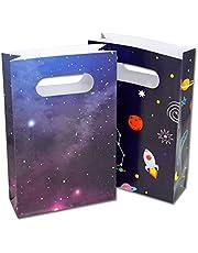 حقائب حفلات الفضاء الخارجي بتصميم جالكسي الكواكب بتصميم روكيت للأطفال وحقائب هدايا حفلات أعياد الميلاد