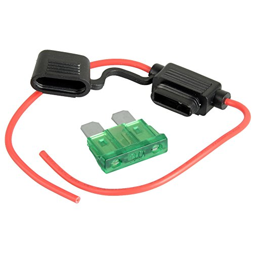 ASDOMO Car Standard Blade Type Fuse Hold - 30a Blade Fuse Shopping Results