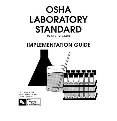 Osha Laboratory Standard - Implementation Guide: Implementation Guide/Book and Disk (English Edition)