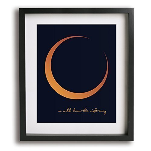 Harvest Moon | Neil Young inspired song lyric art print - romantic anniversary gift idea