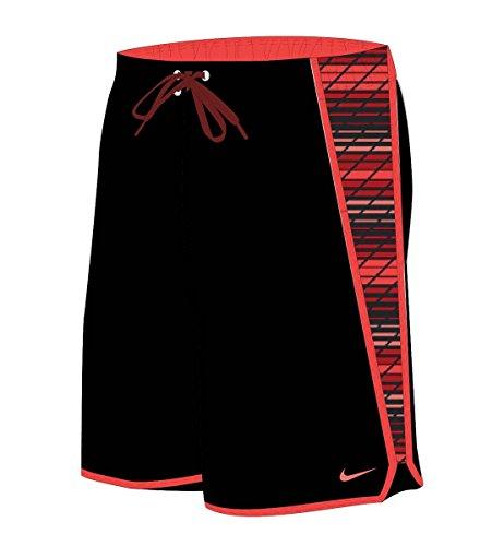 Nike Men's Swift Splice 11' Swim Trunks L Gym Red
