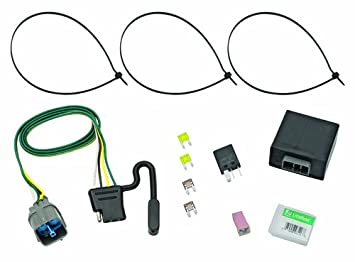 Tow Ready 118265 Trailer Wiring Connector Kit for Honda ... on towdaddy wiring harness, honda pilot exterior accessories, 2015 honda pilot towing harness,