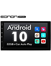 Double Din Car Stereo, Android 10 Android Head Unit with DSP, Eonon 7 Inch Car Stereo Car Radio Support Android Auto Apple Carplay/WiFi/Fast Boot/Backup Camera/OBDII(No CD/DVD) - GA2180A