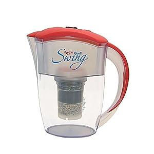 Filtre à eau AcalaQuell Swing carafe filtrante   Rouge   Très haute performance de filtration   Cartouche filtrante…