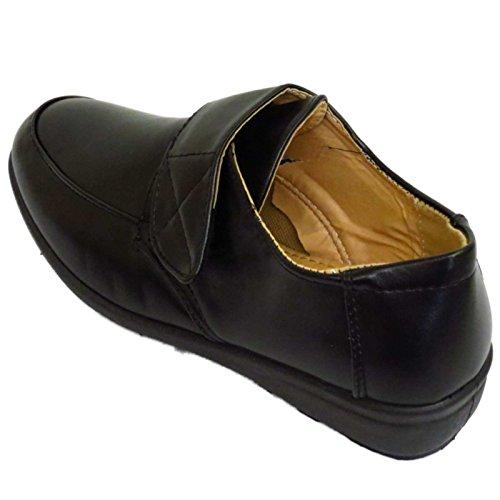 8 Mulheres Calcanhar Pequeno A Lazer Escorregar De Sapatos Confortável Bombas 3 Mundo Cunha No Negras De ZZrqxAR