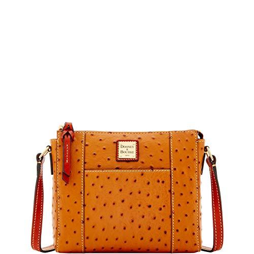 Dooney & Bourke Ostrich Lexington Crossbody Shoulder Bag (Purses Dooney Bourke Clear)