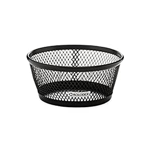 Rolodex Mesh Collection Jumbo Paper Clip Holder, Black (62562)