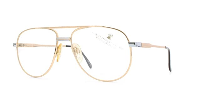 2380337f1b Image Unavailable. Image not available for. Color  Neostyle Office 172 392  Gold Certified Vintage Aviator Eyeglasses Frame ...